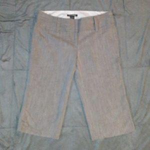 Stooshy juniors 9 gray Bermuda dress pants